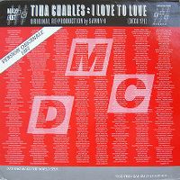 Cover Tina Charles - I Love To Love [1987]